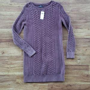 NWT Abercrombine & Fitch Small Sweater Tunic